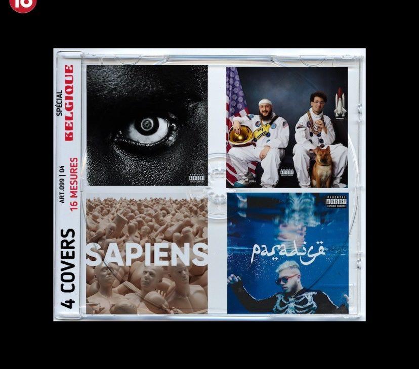 LES 4 COVERS #4 – SPÉCIAL BELGIQUE